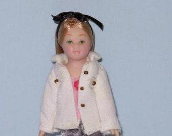 PORCELAIN GIRL dollhouse people