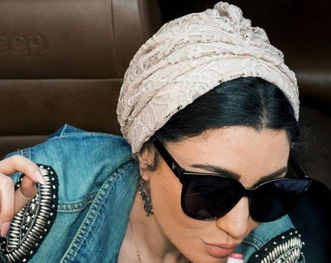 Featured listing image: Lace turban summer turban
