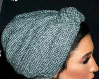 Wool winter turban