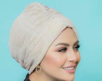 Everyday Pleated Chiffon Women Turban Headband