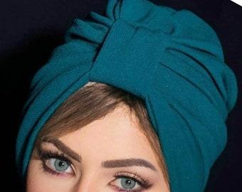 Original design volume crepe turban