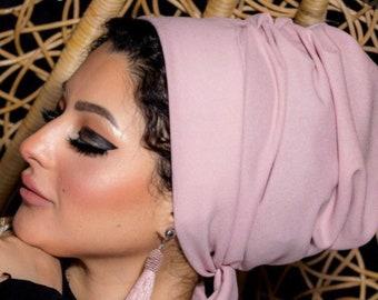 Crepe Multiway women turban turban headband