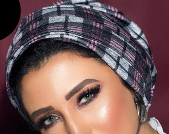 Two pieces wool turban