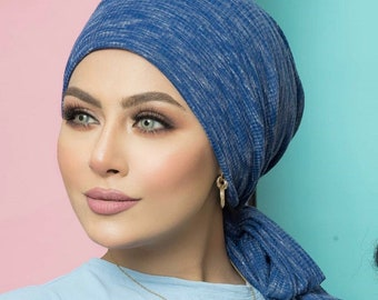 Stripped Cotton Multi-way Women Turban