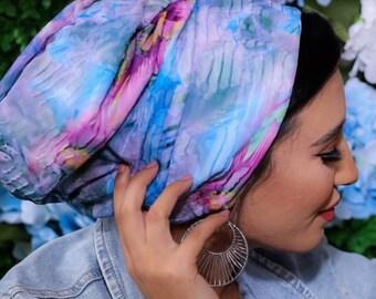 New Design Pleated Volume Turban Headband Chemo Hat Turban Hijab Elgant Bonnet