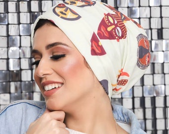 Drape Design Women Turban Headband Turkish Crepe Summer Turban Ready to Wear Turban