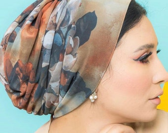 Italian Tulle Soft And Comfy Great Volume Women Turban