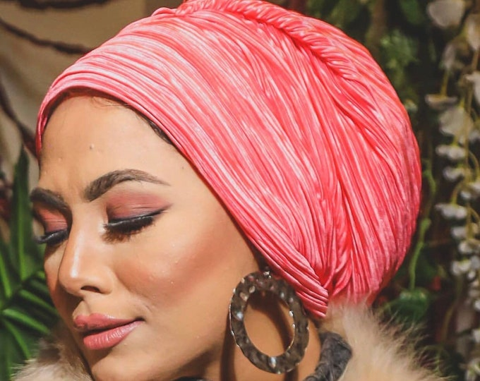 Featured listing image: Pleated soft everyday turban headband