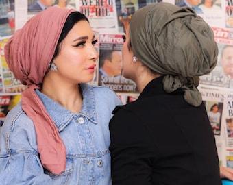 Multi-way Cotton Turban For Women