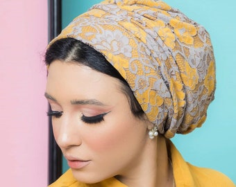 Lace summer women turban
