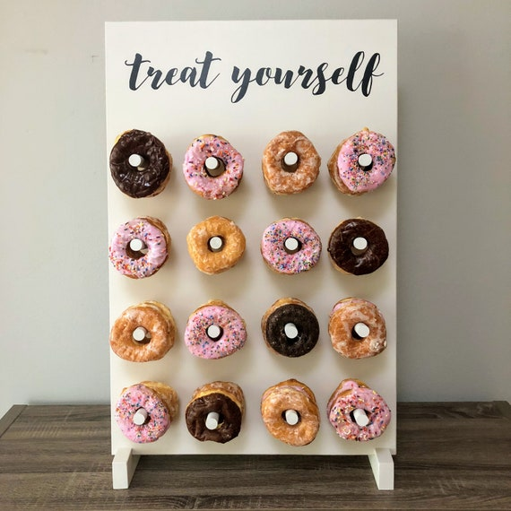 TREAT YOURSELF Donut Wall Dessert Wall Multiple Color