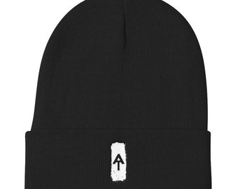 Appalachian Trail AT White Blaze Knit Beanie Hat