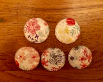 set of five magnets