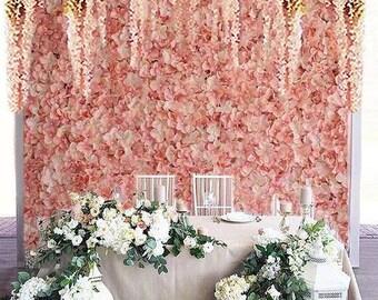 Blush Flower Wall Etsy
