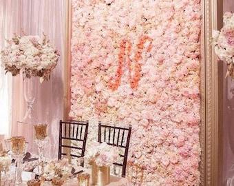Flower Wall Etsy