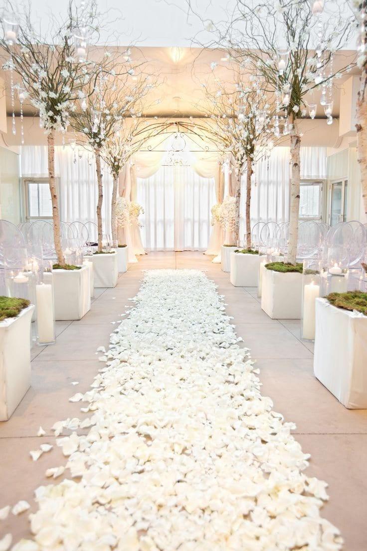 10000 White Silk Flower Petals Wholesale Flower Petals Wedding Etsy