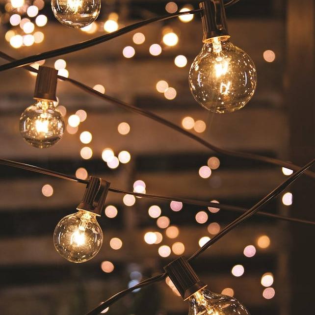 Sale globe lights string lights party lighting outdoor indoor etsy image 0 aloadofball Images