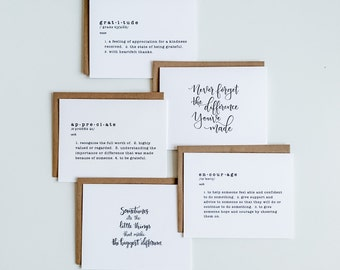 Employee Appreciation Card Pack (Available in a variety of quantities.)