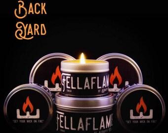 Back Yard FellaFlame Candle
