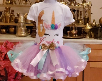 85e2c50dbbc Unicorn birthday outfit