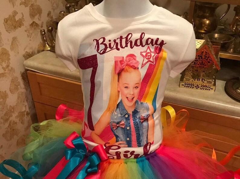 Jojo Siwa Birthday Shirt Party Bow