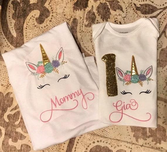 a2f14cf54 Unicorn mom shirt unicorn birthday shirt unicorn mommy shirt | Etsy
