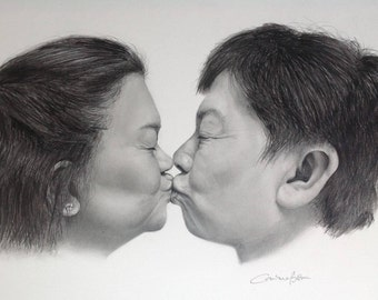 Custom Detailed Hand Drawn Pencil Drawings