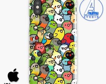 Birdy Phone Case, Every Birdy Phone Case, Birdy Love Case, Everybirdy iPhone X Case, iPhone 7 Case, iPhone 8 Case, Samsung Galaxy S8 Case
