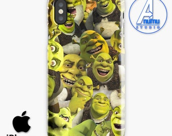 Shrek Collage Phone Case, Shrek Collage iPhone Case, Shrek Pattern iPhone Case, Shrek iPhone 8 Case, Samsung Galaxy S8 Case, Samsung Case