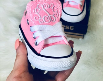 Infant Toddler Monogrammed Converse cff3ac0e5
