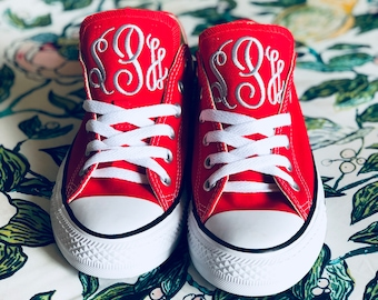 3113d24ae00 Adult Monogrammed Converse