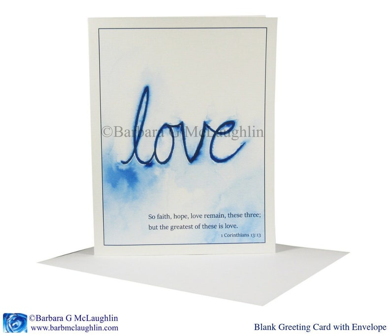 Scripture Wedding Cards With Love Bible Verse