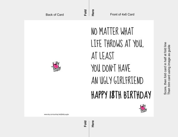 Geburtstag karte text 18