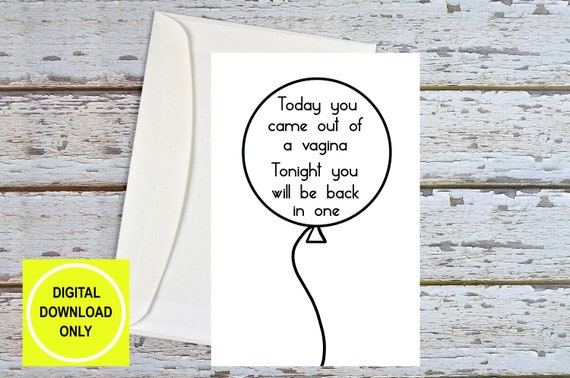 Dirty Birthday Cards For Him Sex Card Naughty
