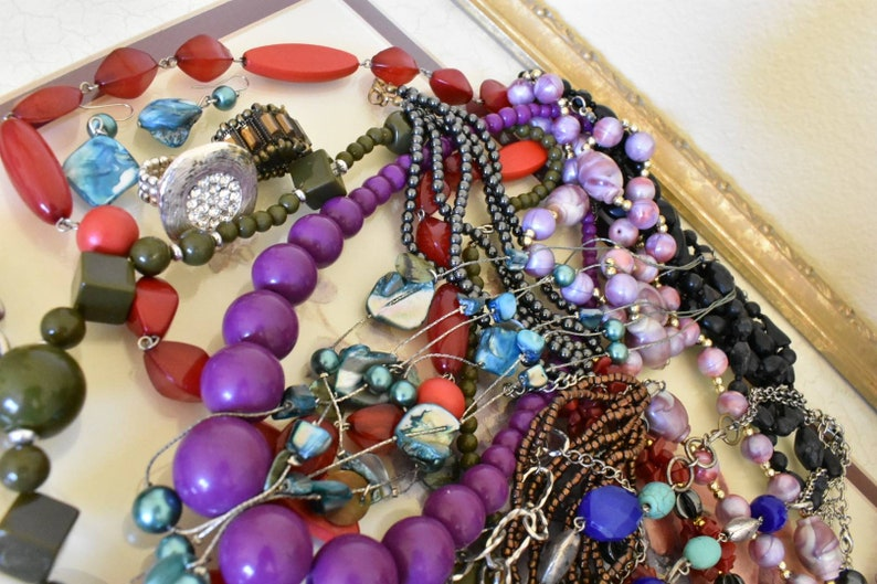 coro bel geddes druzy pendants silver beautiful corocraft enamel, malachite czechoslov pieces 4.5+ lb Costume jewelry destash