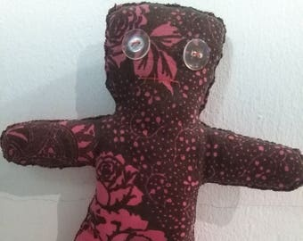 Voodoo Flower Pattern Doll