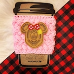 Mouse Waffle Drink Coffee Cozy