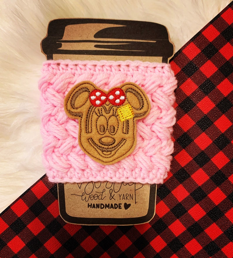 Mouse Waffle Drink Coffee Cozy image 0