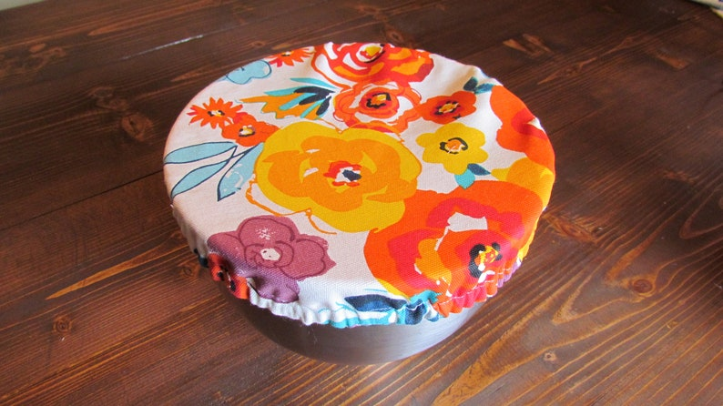 Pioneer Woman Flea Market Kitchenaid Mixer Fabric Bowl Cover Etsy