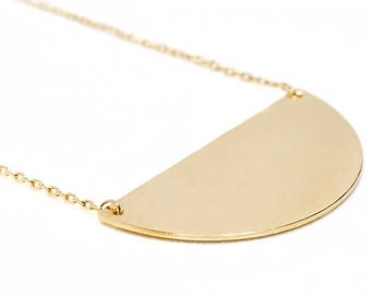 Fine 18 k gold plated necklace