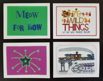 Whimsical Greeting Cards set 2
