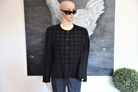 LOUIS FERAUD short black jacket
