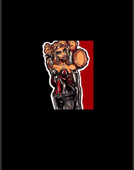 Harley Quinn Copic Art