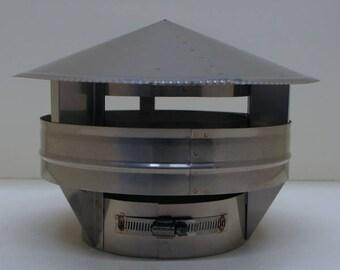 "9"" Stainless Steel Raincap"