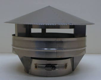 "10"" Stainless Steel Raincap"