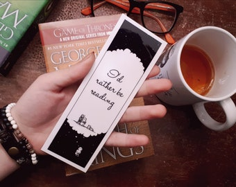 Bookmark   I'd rather be reading