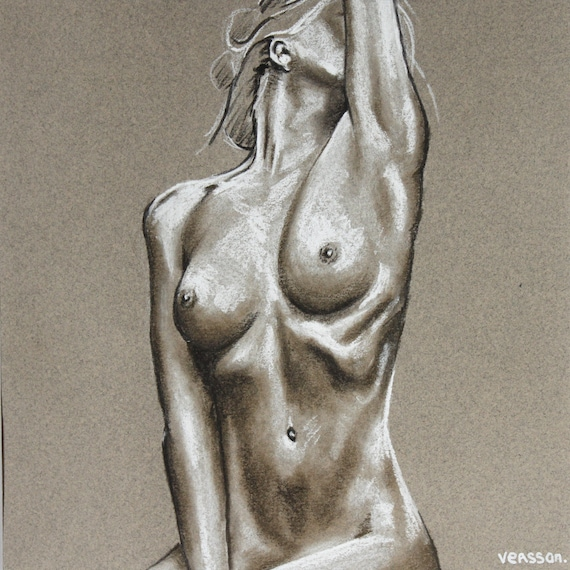 Nude strong woman drawing, nudist colonies infl