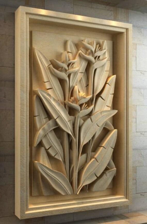 3D STL Routers file Artcam/Aspire Model for CNC Machine engraving carving relief