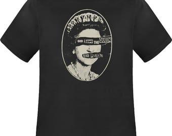 196fddb68f Sex Pistols God Save The Queen black t shirt