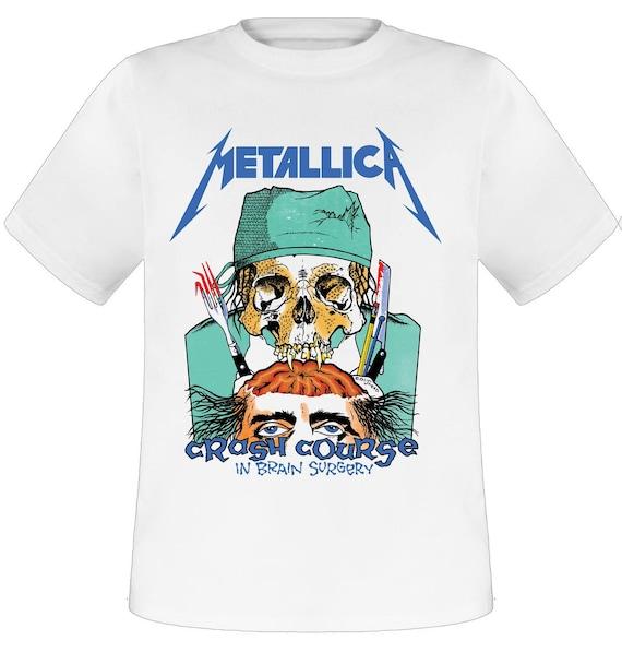 Men's Metallica Crash Course in Brain Surgery Shirt